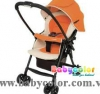 Xe đẩy Mechacal First màu cam - Babycolor
